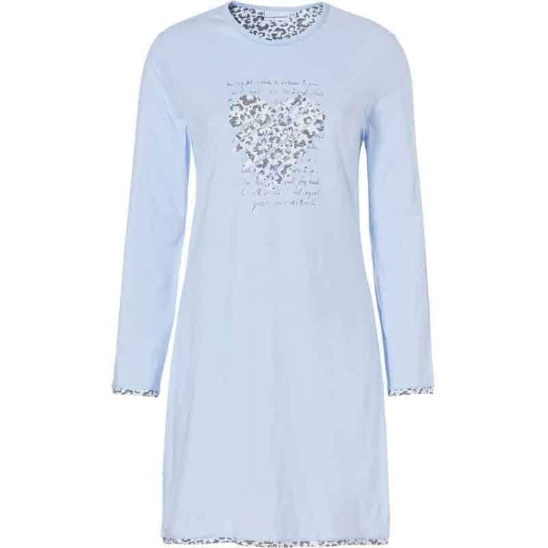 lichtblauw-nachtkleding-jurk