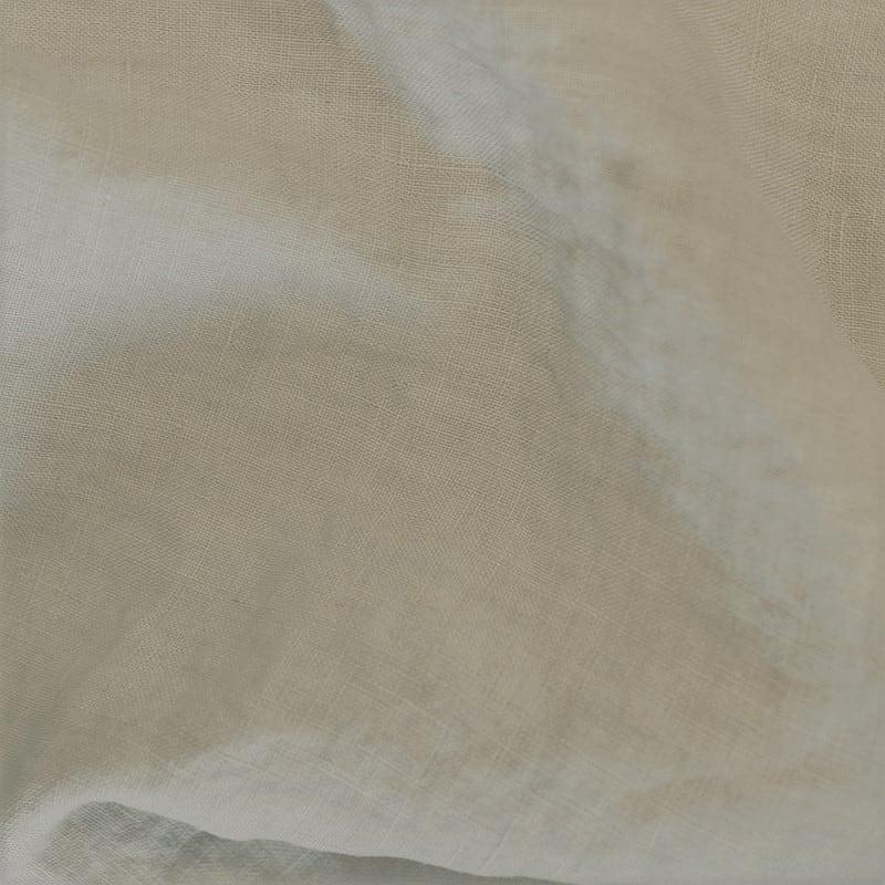 stof van linnen in zand kleur