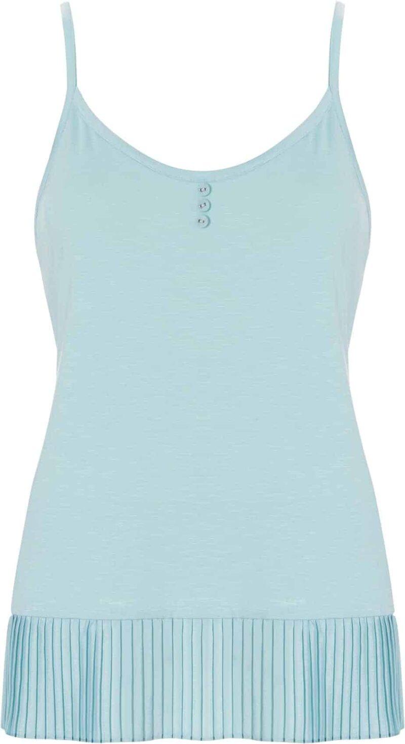 shortama-pastunette-turquoiseblauw