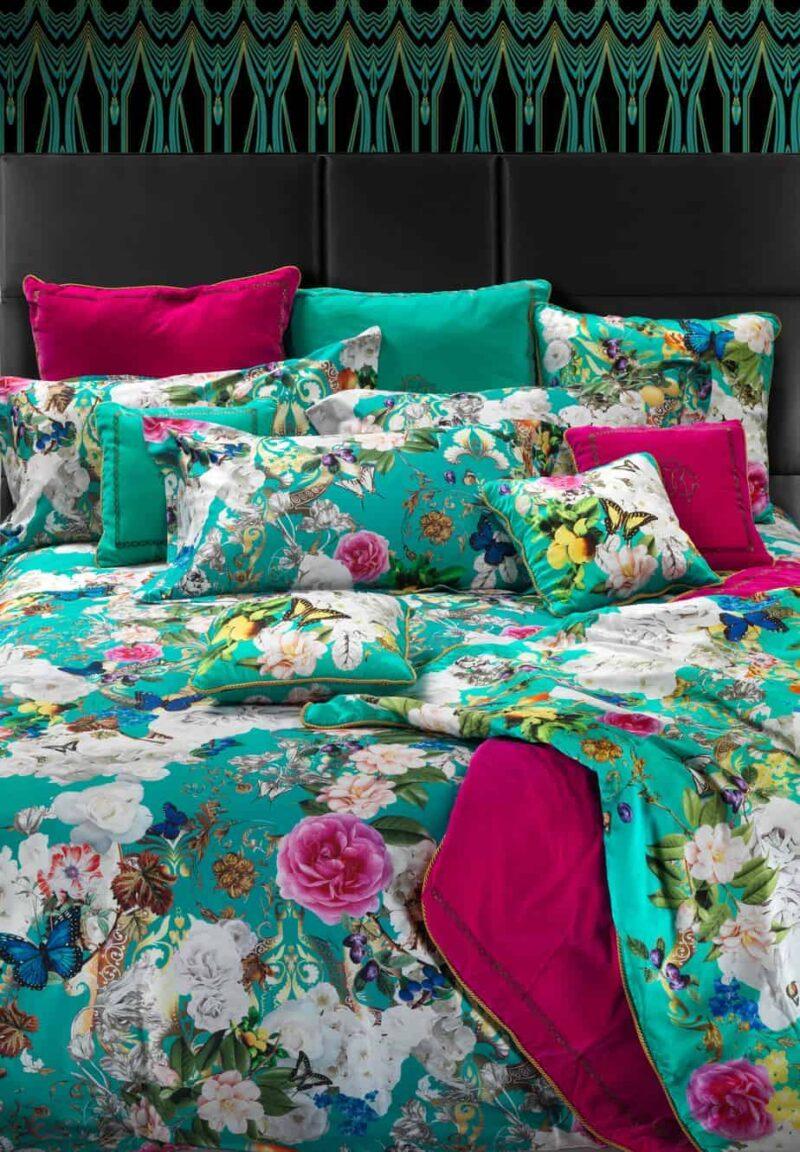 roberto-cavalli-bedding-beddengoed-dekbedovertrek-blaze-turquoise