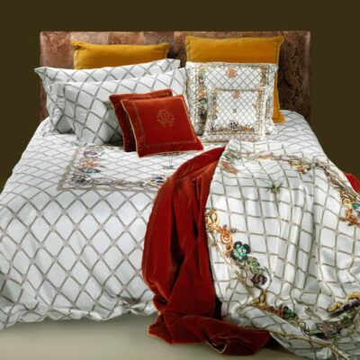 roberto-cavalli-bedding-beddengoed-dekbedovertrek-spider-wit