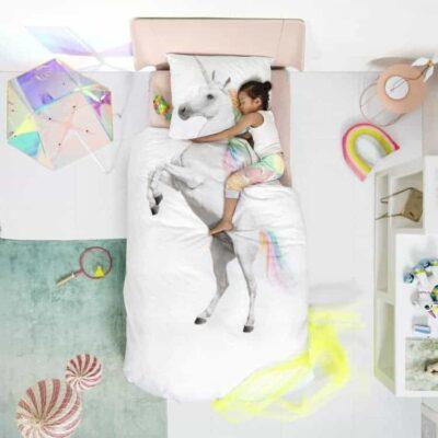 kinderdekbedhoes-unicorn-kinderen-kinder-overtrek-kids-snurk