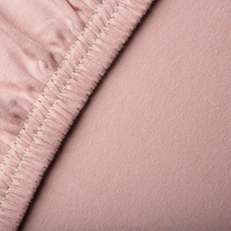 jersey hoeslakens roze