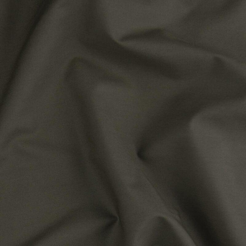 stof kleur leem van een katoen percal dekbedovertrek
