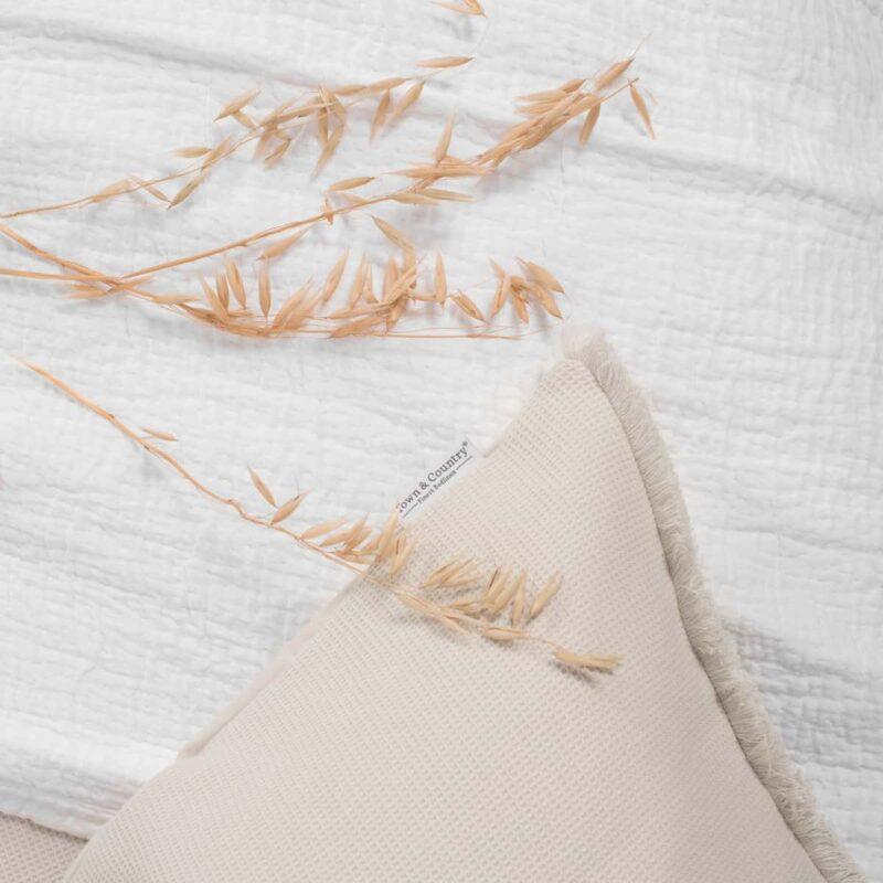 plantje op bed