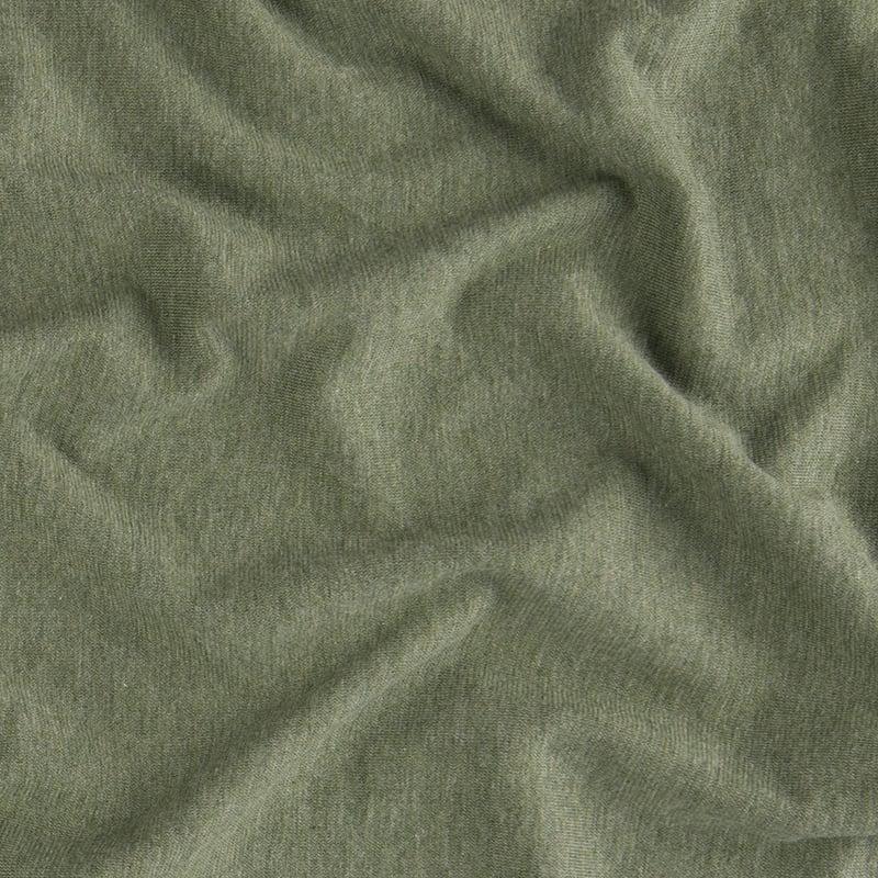 groene staal van jersey dekbedovertrek