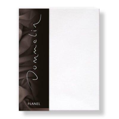 Flanellen lakens in de kleur wit van het merk Dommelin