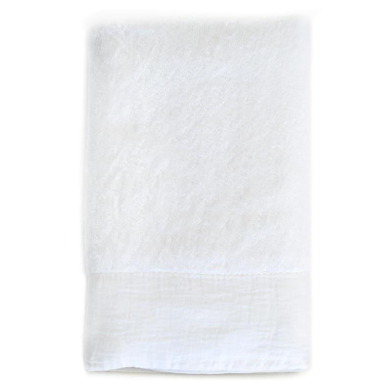 witte handdoeken van dommelin sale douchelaken