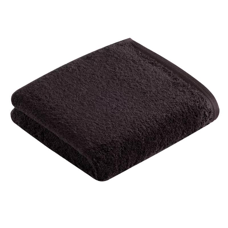 één effen donkere antraciet handdoek, de beste kwaliteit antraciet handdoeken