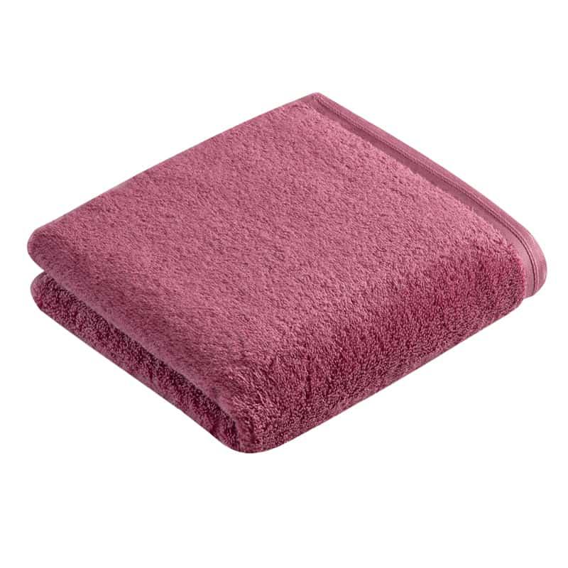 roze/ blackberry gekleurde handdoek hotelkwaliteit extra zwaar