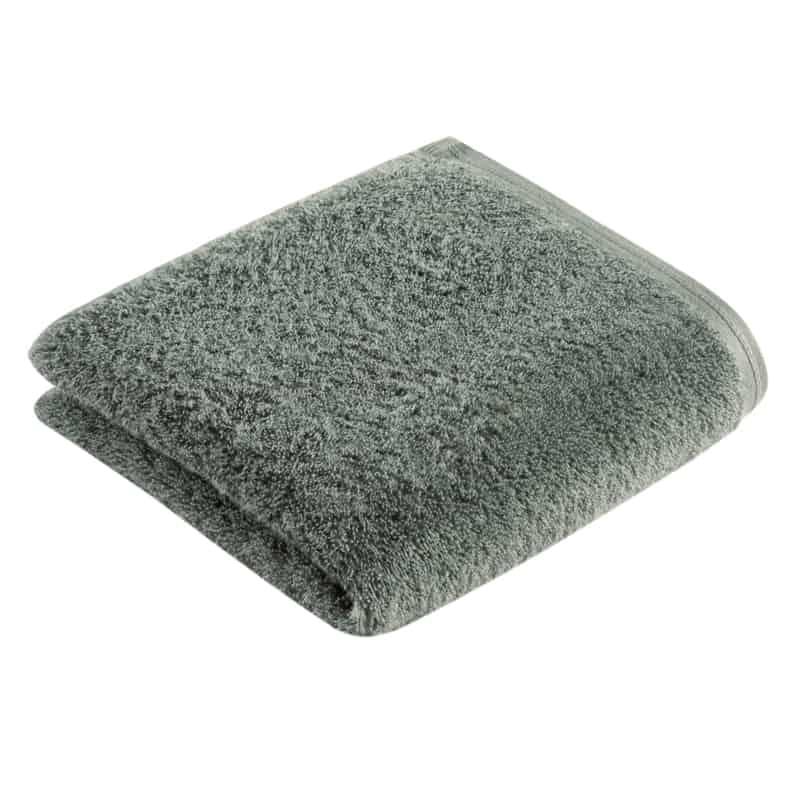 salie groene handdoek met witte achtergrond: goede kwaliteit handdoeken