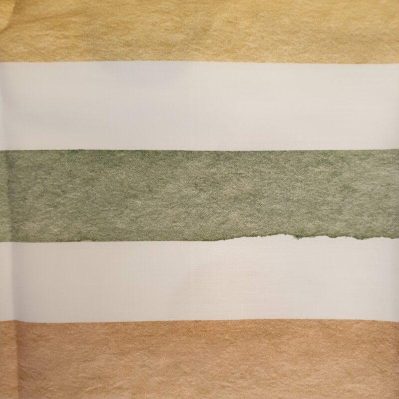 dekbedovertrek met gekleurde strepen